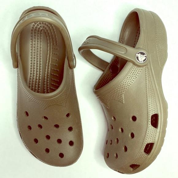 CROCS Shoes | Olive Green | Poshmark